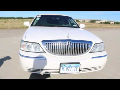 "SOLD – 2005 Lincoln 120"" Town Car Limousine For Sale~ONE Owner~Ready to Work and Always Reliable"