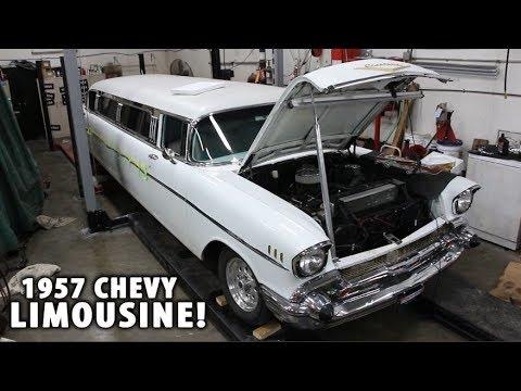 UNIQUE CLASSIC CARS! – 1957 Chevy Limousine!!! Rare Classic Cars.