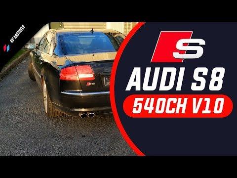 Audi S8 V10 D3 : La limousine énervée ! 😈
