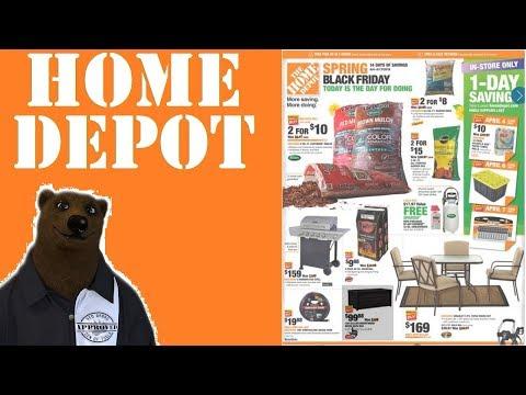 Home Depot Spring Black Friday! Ryobi – Ridgid – Milwaukee – DeWALT