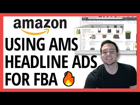 FBA HACK 🔥 Using AMS Headline Search Ads To Boost New Product Sales + * New SKU Sales Update *