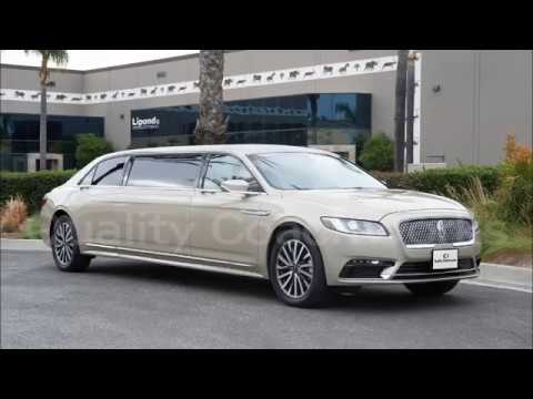 "2018 Lincoln Continental 62"" by Quality Coachworks Limo Limousine"