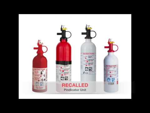 Kidde Fire Extinguisher Recall 2017 Guide for US and Canada