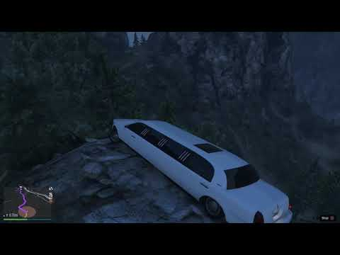 GTA 5 taxi driver AI challenge with the casino limousine