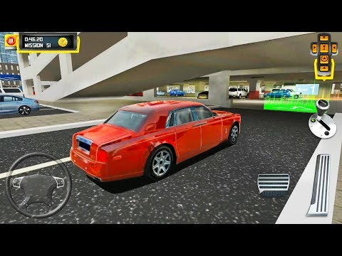 Luxury Limousine Driving – Multi Level Car Parking Simulator – Android Gameplay FHD