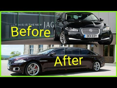 jaguar xf – building a homemade limousine in 7 minutes