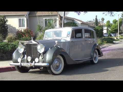1947 Rolls Royce Silver Wraith Limousine