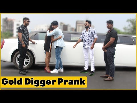 Gold Digger Prank Gone Romantic in Limousine | The HunGama Films