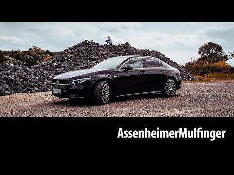 Die neue Mercedes A-Klasse Limousine (2019)