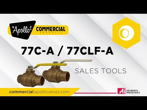 """""""Apollo®"""" Commercial Products Training – 77C-A – Sales Tools"""