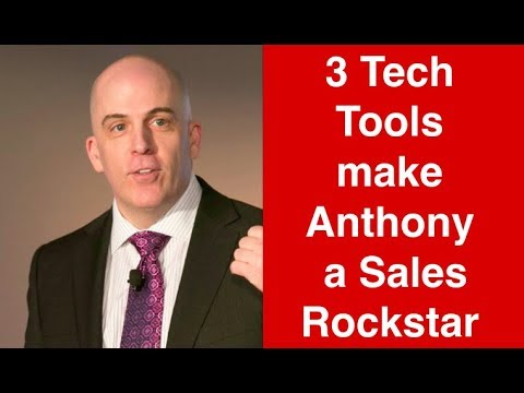 Three Tech Tools Make Anthony a Sales Rockstar