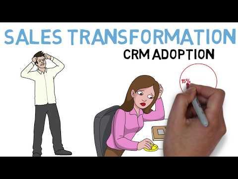 Sales Transformation: CRM Adoption – Increase Adoption of Cloud Tools : Best Sales Training Program