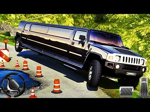 Offroad Hill Limo Driving 3D – Taxi Limousine Simulator | Android Gameplay