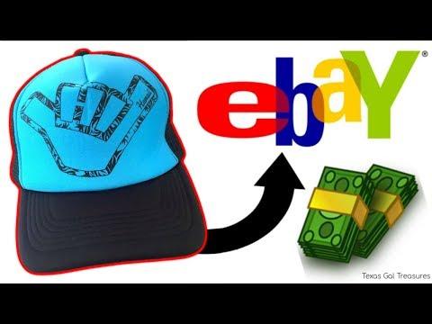 Selling Hats on Ebay   Flipping Vintage Snapback, Trucker, Baseball Meshback Caps for Profit