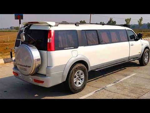 Ford endeavor modified to limousine ആഢംബരം പോരെന്ന് പരാതി ഫോര്ഡ് എന്ഡവറിനെ ലിമോസിനാക്കി മാറ്റി ഉടമ