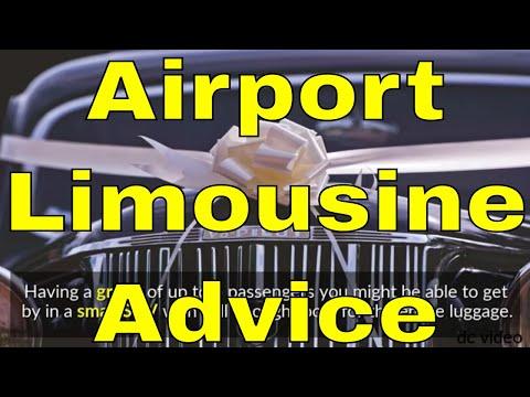 Airport Limousine Advice