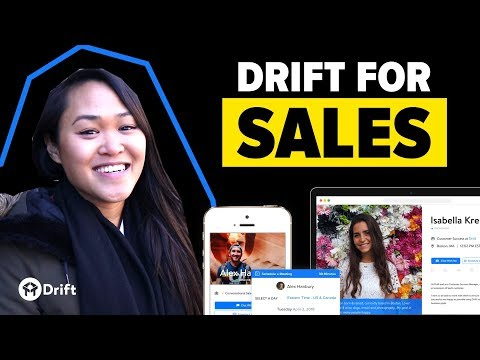 Introducing Drift for Sales – The Toolkit for Conversational Selling