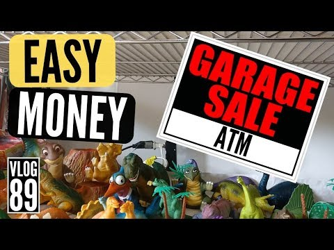 Sell These Common Garage Sale Items to Make Money on eBay