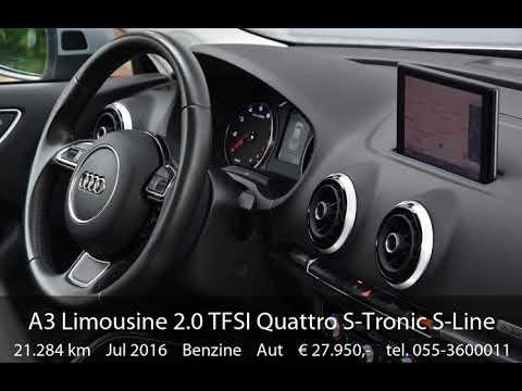 Audi A3 Limousine 2.0 TFSI Quattro S-Tronic S-Line 220PK!