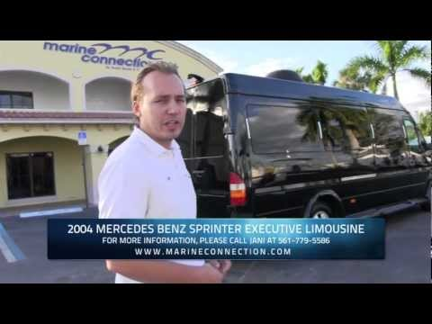 Mercedes-Benz Sprinter Executive Limousine – Travel in Total Comfort & Complete Luxury