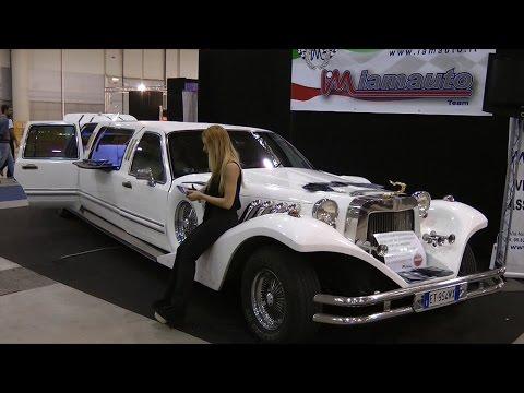 Splendida Limousine con idromassaggio Jacuzzi a bordo