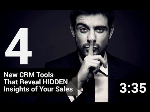 4 new CRM tools that reveal hidden insights of your sales