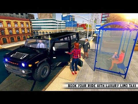 Luxury Limousine Car Taxi Driver : City Limo games || Gamers Boys ||