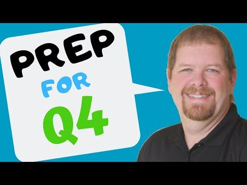 Preparing for Q4 | Higher Book Sales