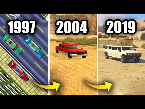 EVOLUTION of LIMOUSINE in GTA GAMES 1997-2019