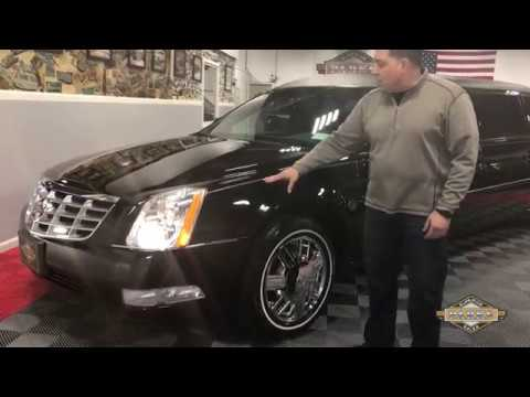 """2006 Cadillac 64"""" Raised Roof Limousine by Federal Coach"""