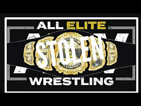 AEW WORLD TITLE STOLEN FROM CHRIS JERICHO'S LIMOUSINE | AEW Championship Missing!