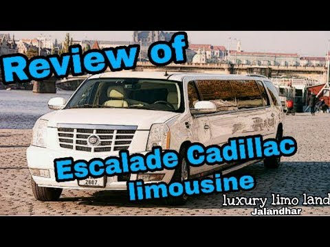Review and photoshoot with Cadillac Escalade limousine .#1vlog