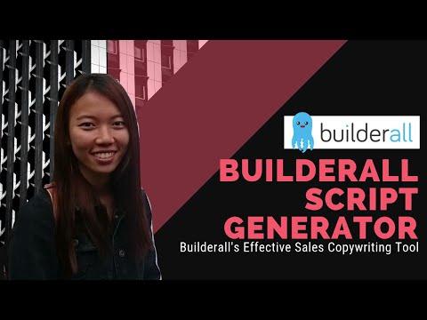 Builderall Script Generator 2018 ⚡ – Effective Sales Copywriting Tool