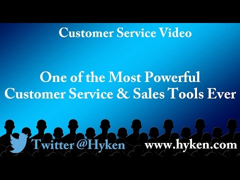 Harvey Mackay Most Powerful Customer Service and Sales Tool