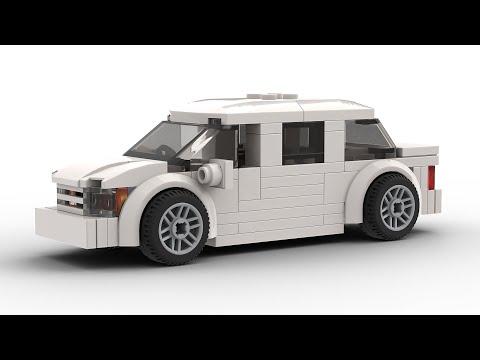 Simple LEGO City Limousine Tutorial