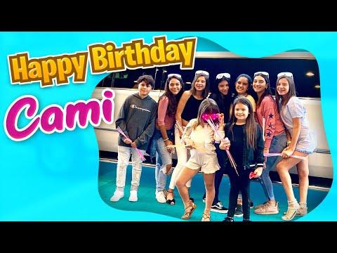 LIMOUSINE RIDE THROUGH MIAMI BEACH! HAPPY 13th BIRTHDAY CAMI!