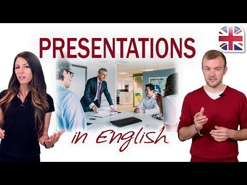 Presentations in English – How to Give a Presentation – Business English