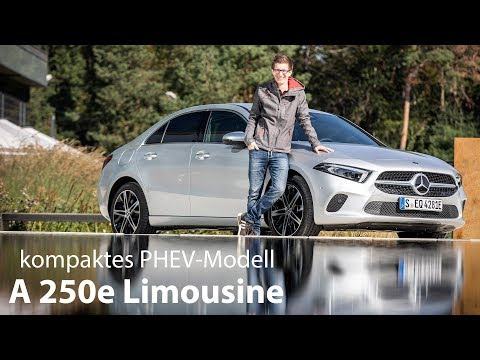 2019 Mercedes-Benz A 250e Limousine Fahrbericht / der kompakte Plug-in Hybrid im Test – Autophorie