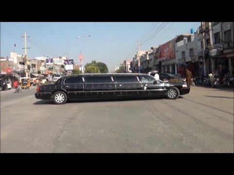 Limousine in Sialkot Jaani Sialkotia Big Bro Shadi Machi Khokhar Pakistani Wedding