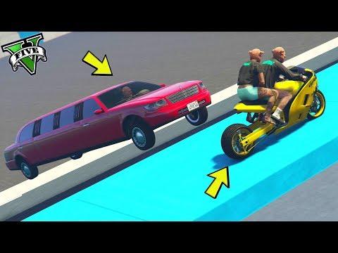 GTA 5 ONLINE 🐷 HAKUCHOU DRAG VS LIMOUSINE !!! 🐷 LTS 🐷N*244🐷 GTA 5 ITA 🐷 DAJE !!!!!!!