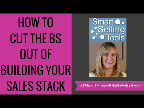 Taking The BS Out Of #SalesTools w/ Nancy Nardin @sellingtools #SalesJOLT Ep 29