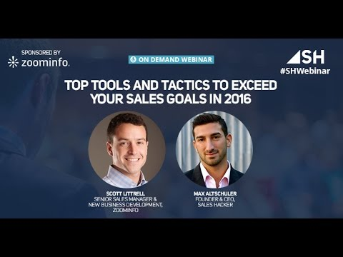 Top Tools and Tactics to Exceed Your Sales Goals