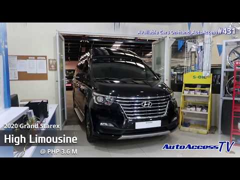 2020 All New Grand Starex High Limousine @ ₱ 3.6 M (Available Cars On hand_Autoaccess#431)