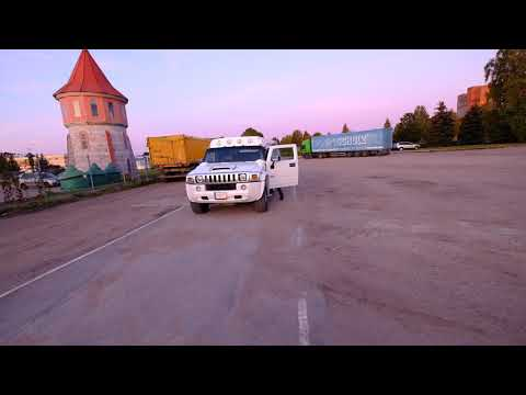 Hummer h2 limousine turn radius