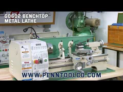 Grizzly G0602 Bench Lathe at Penn Tool Co.