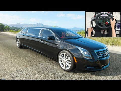 Cadillac Limousine – Forza Horizon 4 | Logitech g29 gameplay