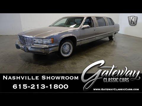 1996 Cadillac Limousine, Gateway Classic Cars Nashville,#1109