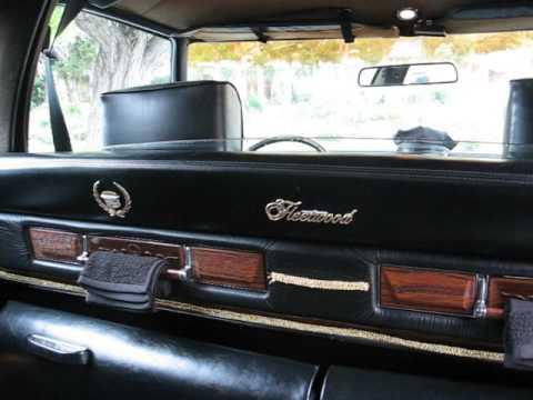 1976 Cadillac Limousine, exterior and interior