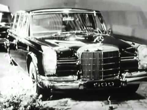 Mercedes Benz W100 Type 600 Pullman Limousine History