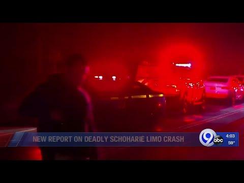 NTSB releases report on Schoharie limousine crash